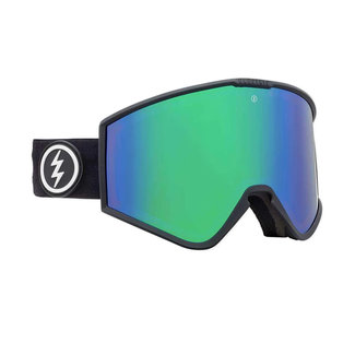 Electric Goggles Kleveland Goggle Matte Black Brose/Green Chrome + Extra Lens