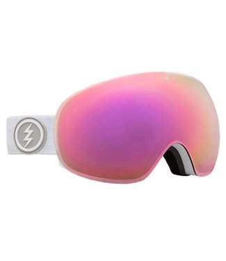 Electric Goggles Eg3 Goggle Matte White Brose/Pink Chrome