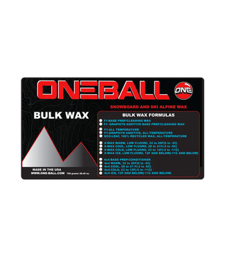 One Ball F-1 Bulk Snow Wax All Temp 750gr