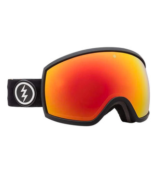 Electric Goggles Egg Goggle Matte Black Brose/Red Chrome + Extra Lens