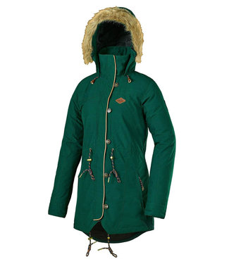 Picture Katniss Snowboard Jacket Emerald
