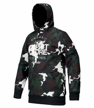 Picture Parker Black Painter Snowboard Pullover Jacket
