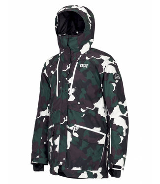 Picture Pure Snowboard Jacket Black Painter