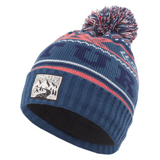 Picture Donnie Kid Beanie Petrol Blue