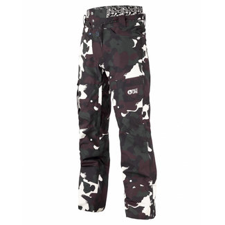 Picture Under Snowboard Broek Black Painter