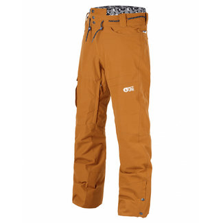 Picture Under Snowboard Broek Camel