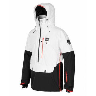 Picture WWF Anton Snowboard Jacket Black & White