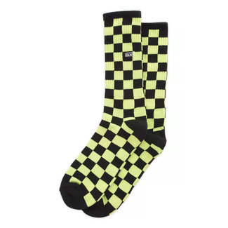 Vans Checkerboard Crew II Socks Green/black