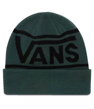 Vans Drop V Stripe Cuff Beanie Vans Trekking Green