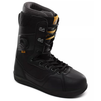 Vans Mens Implant PRO Snowboard Boots Black/Yellow