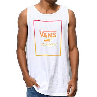 Vans Print Box Tank Top White/Jazzy