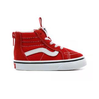 Vans Toddler Sk8-Hi Zip Schoenen Racing Red/True White