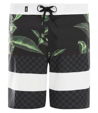 """Vans Era Boardshort 19"""" Rubber Floral-black"""