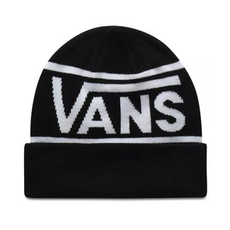 Vans Drop V Stripe Cuff Beanie Black
