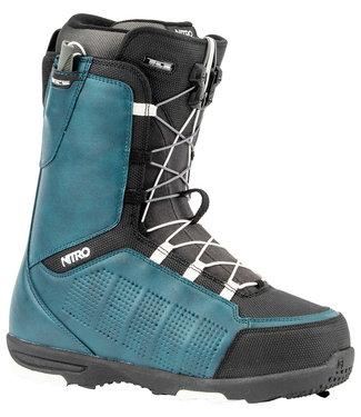 Nitro Thunder TLS Snowboard Boots Navy Blue/Black