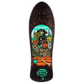 "Santa Cruz Dressen Pup Reissue Skateboard Deck 9.5"""