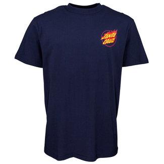 Santa Cruz Flame Hand T-Shirt Tangerine