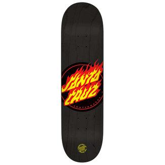 "Santa Cruz Flame Dot Skateboard Deck 9,0"""