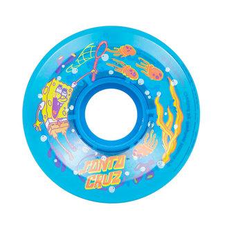Santa Cruz Jellyfish SpongeBob Skateboard Wielen 78A 60 mm