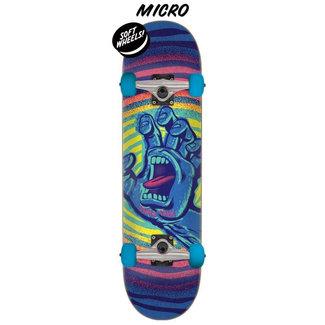 "Santa Cruz Off Hand Blue/Purple 6.75"" Complete Skateboard"