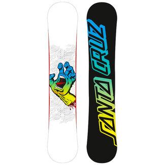 Santa Cruz Progression Hand Snowboard White