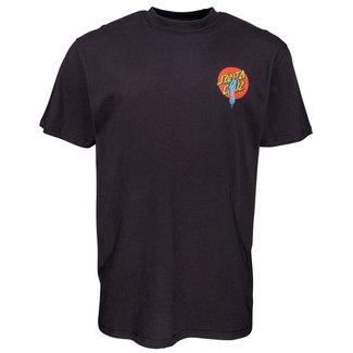 Santa Cruz Rob Dot T-Shirt Black