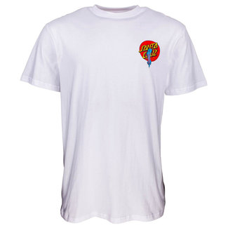Santa Cruz Rob Dot T-Shirt White