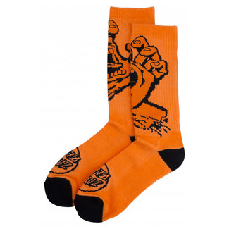 Santa Cruz Screaming Hand Mono Sock Fluo Orange OSFA