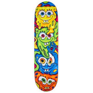 Santa Cruz SpongeBob Melt Everslick Skateboard Deck 8,5