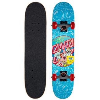 "Santa Cruz Spongebob Spongegroup Complete Skateboard 6,75"""