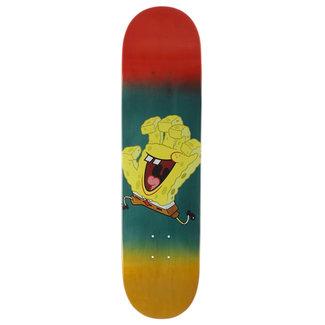 Santa Cruz SpongeBob Spongehand Skateboard Deck  8,125