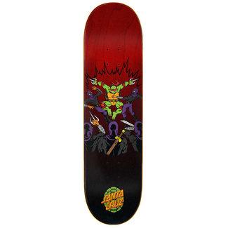 "Santa Cruz TMNT Raphael Skateboard Deck 8,25"""