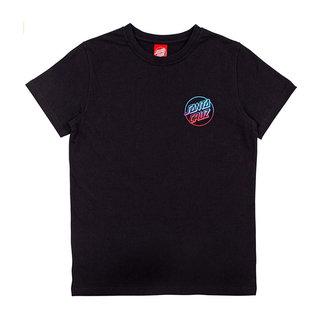 Santa Cruz Youth Fade Hand T-shirt Black
