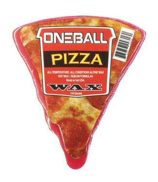 One Ball Pizza All Temp Snowboard Wax 110g