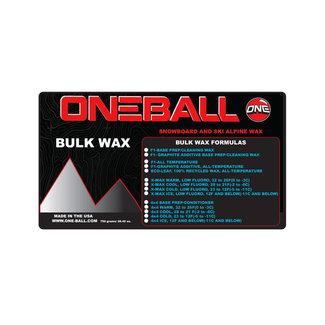 One Ball Eco Bulk Recycled Wax All Temp 750G