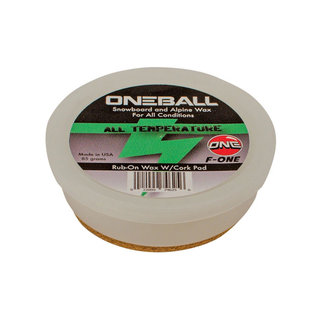 One Ball F-1 Rub On All Temp Wax 85g Met Kurk
