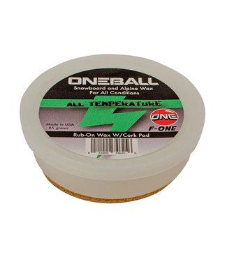 One Ball F-1 Rub On All Temp Wax 85g Met Kurk