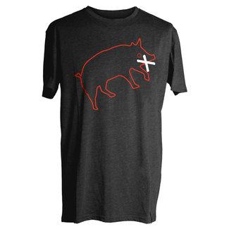 YES. Muzzled Pig T-shirt Black