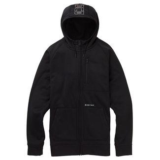 Burton M Crown Bndd Fz Sweater True Black Heather