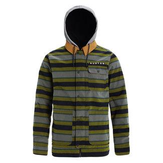 Burton M Dunmore Jacket Maize Sap Stripe