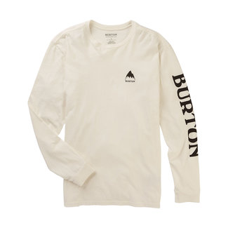 Burton Elite Organic Long Sleeve T-Shirt Stout White