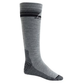 Burton M Emblem Mdwt Sock Gray Heather