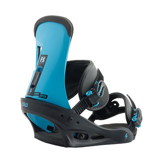 Burton Freestyle Snowboard Bindings Cobalt Blue
