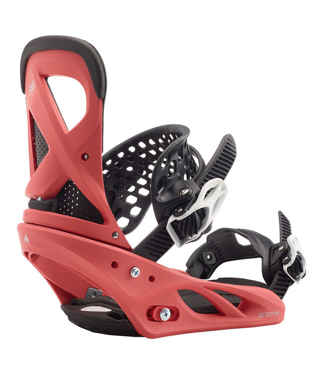 Burton Lexa Re:Flex Snowboard Binding Electric Coral