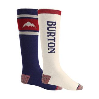 Burton M Weekend Sock Mdwt 2Pk Mood Indigo
