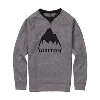Burton M Crown Bndd Crew Sweater Monument Heather