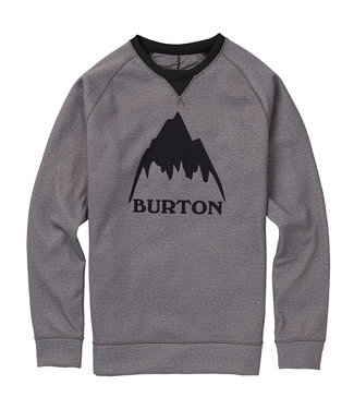 Burton M Crown Bndd Crew Sweater Monument Heather