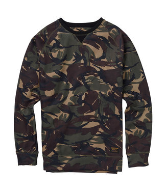 Burton M Crown Bndd Crew Sweater Seersucker Camo
