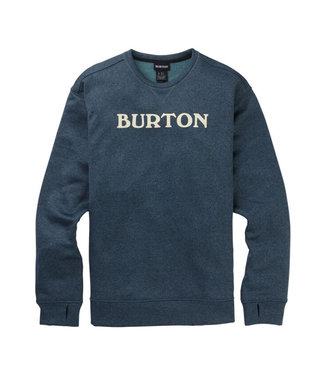 Burton M Oak Crew Dress Blue Heather