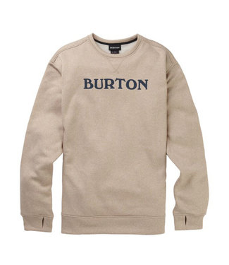 Burton M Oak Crew Plaza Taupe Heather